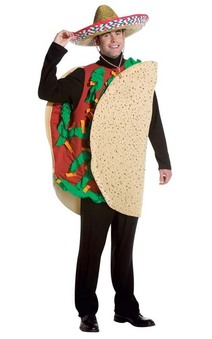 Taco Man Adult Costume
