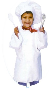 Master Chef Child Cooking Costume