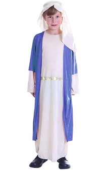 Caspar Blue Three Wise Men Child Costume