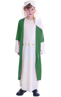 Melchior Green Three Wise Men Child Costume