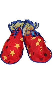 Child Clown Shoe Covers