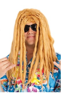 Blonde Surfie Dude Dreadlocks Wig
