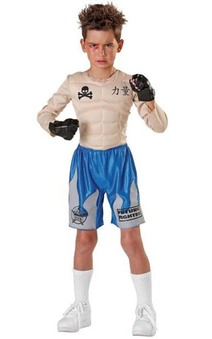 Child Impact Punch Boxer Costume