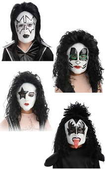 KISS DEMON simmons STARCHILD stanley CATMAN criss SPACEMAN frehley MASK