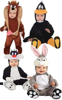 BUGGS BUNNY DAFFY DUCK SYLVESTER TAZ INFANT TODDLER COSTUMES