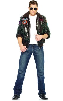 Adult Top Gun Bomber Jacket Costume