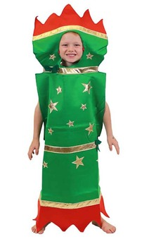 Xmas Cracker Boy Child Costume