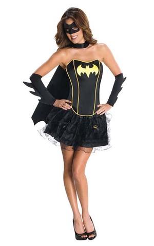 Sexy adults womens batgirl costume