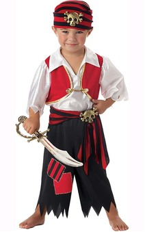 Ahoy Matey Toddler Pirate Costumes