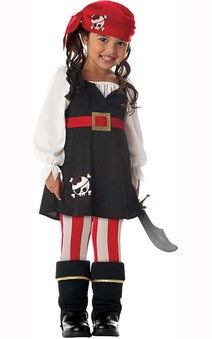 Precious Lil Pirate Toddler Costume