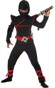 Stealth Ninja Japanese Child Costume