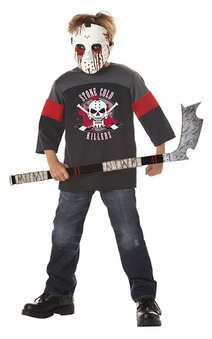 Blood Sport Hockey Jersey Child Costume
