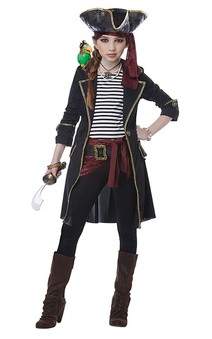 High Seas Pirate Captain Child Costume