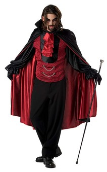Count Bloodthirst Adult Vampire Costume