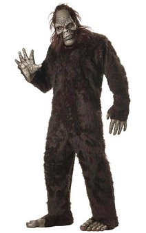 Bigfoot Adult Mens Costume Big Foot