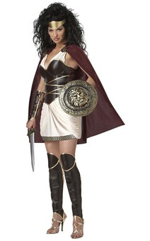 Greek Roman Warrior Queen Adult Costume