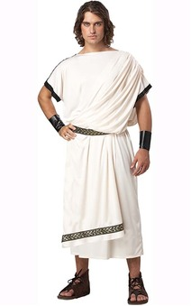 Men's Deluxe Classic Toga Adult Costume