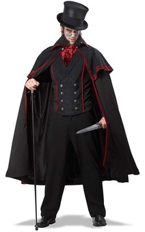 Jack The Ripper Adult Vampire Dracula Costume