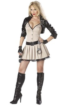 Highway Hottie Police Officer Adults Costume