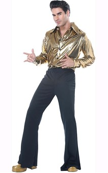 Disco King Adult 1970s Costume