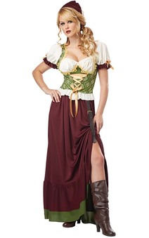 Renaissance Wench Adult Oktoberfest Costume