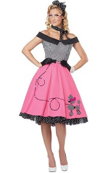 Nifty 50s Adult Rockabilly Rock N Roll Costume