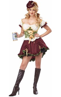 Beer Garden Girl Adult Oktoberfest Costume