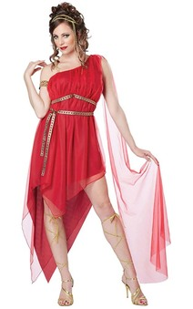 Ruby Goddess Adult Greek Roman Costume