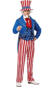 Uncle Sam Adult American Costume