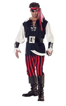 Cutthroat Pirate Adult Buccaneer Costume