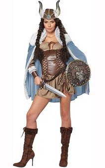 Viking Vixen Adult Sexy Scandinavian Costume