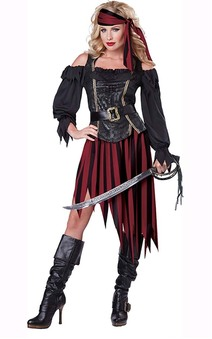 Queen Of The High Seas Adult Pirate Costume