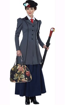 Mary Poppins Adult English Nanny Costume