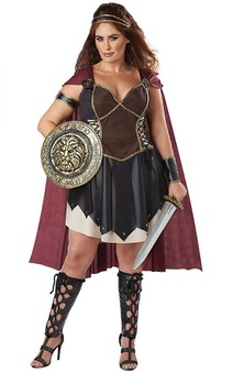 Glorious Gladiator Plus Size Adult Costume