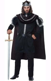 Dark Monarch Plus Size Adult King Costume
