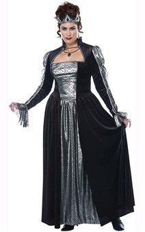 Dark Majesty Plus Size Adult Queen Costume