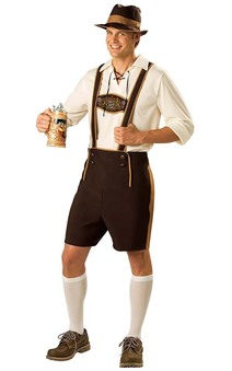 Bavarian Oktoberfest Guy Adult Costume