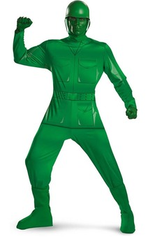 Green Army Man Toy Story Adult Costume