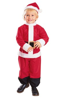Little Santa Child Costume