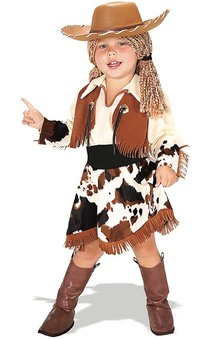 Cowgirl Toddler Child Costume