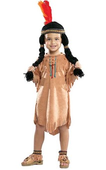 Indian Pocahontas Child Costume