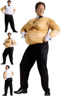 Fat Suit Male Stripper Adult Costume