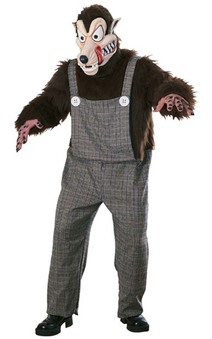Big Bad Wolf Animal Costume