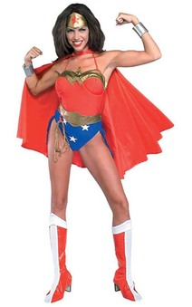 Retro Wonder Woman Adult Costume