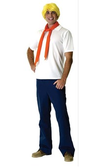 Fred Scooby Doo Adult Costume
