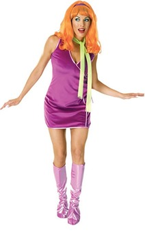 DAPHNE ADULT SCOOBY DOO COSTUME