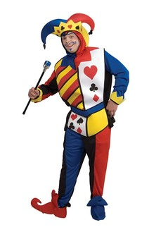 Playing Card Joker Adult Costume