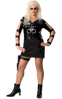 Dog Beth The bounty Hunter Adult Plus Size Costume