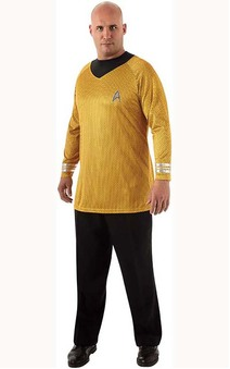 Deluxe Captain Kirk Adult Plus Star Trek Costume
