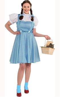 Dorothy Wizard Of Oz Adult Plus Costume